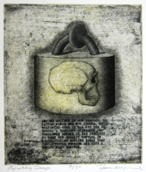 Apathy Trap, 1988; Etching, aquatint; Image: 12 x 11 inches