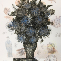 Baby Dream X, 1994; Etching, prisma color; Image: 41 3/4 x 29 1/2 inches
