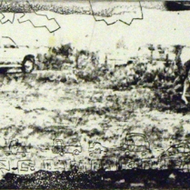 Ceremony, 1995; Intaglio; Image: 9 1/2 x 22 1/4 inches