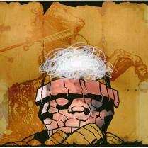 … a false dichotomy …, 2010; Screenprint; Image: 11 x 14 inches