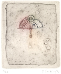 Grass Series 4, 2002; Etching; Image: 10 1/2 x 7 1/2 inches