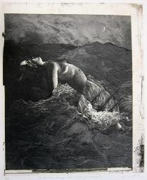 La Cancion Desesperada, 1996; Etching; Image: 23 1/2 x 19 inches