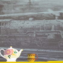 Locomotive, 2000; Lithograph; Image: 21 x 30 inches