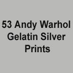 Warhol SIlver Gelatins color