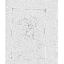 Robert Anderson sketchbook #240 framed