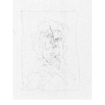 Robert Anderson sketchbook #243 framed