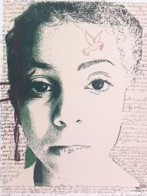 Colores de la Esperanza, 2012; Screenprint; Image: 11 x 15 inches