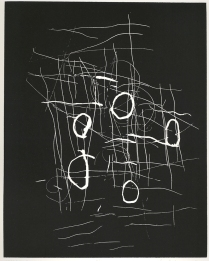 Unadilla, 1993; Relief etching; Image: 8 x 10 inches
