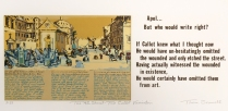 The 4th Street- The Callot Variation, 1975; Screen print; Image: 5 1/2 x 14 inches