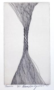 Tension, 1970; Engraving; Image: 451 mm x 591 mm