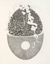 Conscience, 1991; Engraving; Image: 451 mm x 591 mm
