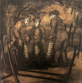 The PhD's, 1967; Intaglio; Image: 451 mm x 591 mm