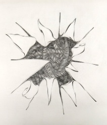 Contemplation: Point of View, 1994; Engraving; Image: 451 mm x 591 mm