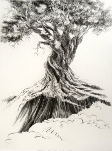 Survivor, 1992; Engraving; Image: 451 mm x 591 mm