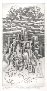 Dream I, 1994; Engraving; Image: 451 mm x 591 mm