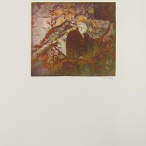 Margaret Craig; Bad Birds: Nonsense, 1996; Photo etching; Image: 192 mm x 215 mm