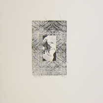 Margaret Craig; Bad Birds: Happy Harpie, 1996; Photo etching; Image: 200 mm x 125 mm