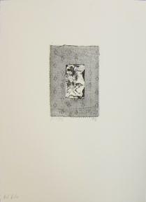 Margaret Craig; Bad Birds: Jovial Jay, 1996; Photo etching; Image: 194 mm x 130 mm