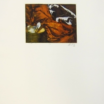 Margaret Craig; Bad Birds: Untitled, 1996; Photo etching; Image: 134 mm x 181 mm