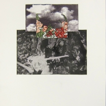 Margaret Craig; Bad Birds: Hips, 1996; Photo etching; Image: 255 mm x 251 mm
