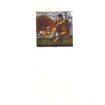 Margaret Craig; Bad Birds: Pigeon Holed, 1996; Photo etching; Image: 126 mm x 126 mm