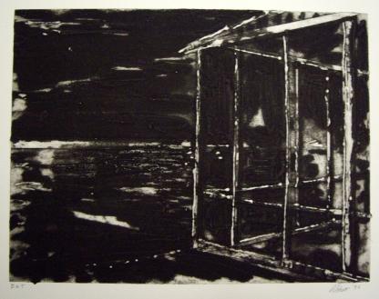 Richard Stout; Untitled, 1996; Etching, carborundum; Image: 226 mm x 299 mm