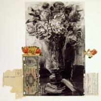 P. D.'s Dilemma, 2010; Photogravure, collage; Image: 451 mm x 591 mm