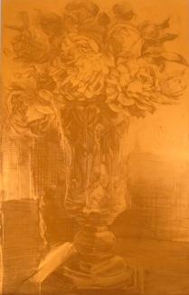 Matrix for P.D.'s Dilemma, 2010; Photopolymer plate; 312 mm x 225 mm