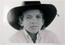 Bullrider, 1985; Gelatin silver print; Image: 305 x 406 mm