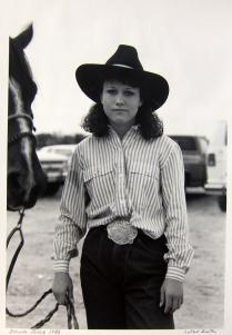 Brenda Jones, 1986; Gelatin silver print; Image: 406 x 305 mm