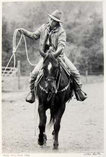 Buffy, Azel, Texas, 1986; Gelatin silver print; Image: 406 x 305 mm