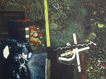 Clinton Cline; Electra, 1968; Viscosity intaglio; Image: 600 mm x 447 mm