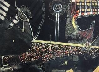 Clinton Cline; Queen, 1968; Viscosity intaglio; Image: 602 mm x 445 mm