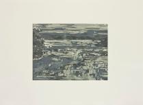 Nebraska, 2012; Woodcut; Paper: 22 1/2 x 31 inches