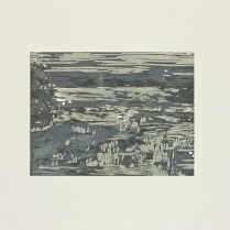 Nebraska, 2012; Woodcut; Paper: 22 1/2 x 31 inches