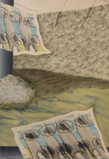 Gray Winds, 1976; Lithograph; Image: 565 mm x 380 mm