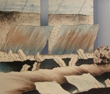 Passing Winds, 1978; Lithograph; Image: 565 mm x 662 mm