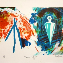 Double Self P, 1989; Lithograph; Image: 172 mm x 241 mm
