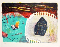 Child's Play, 1999; Lithograph; Image: 405 mm x 508 mm