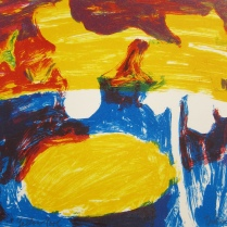Yellow Pool, 2005; Lithograph; Image: 230 mm x 278 mm