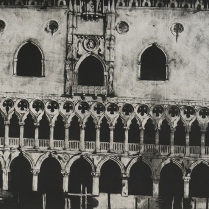 Palazzo Ducale; Mother, 2002; Mezzotint; Object size: 78 x 42 inches