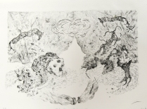 Study for Floating World, 2008; Lithograph; Object size: 12 x 10 inches
