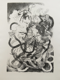 Fruit Fly Conspiracy, 2009; Lithography; Object size: 20 X 16 inches