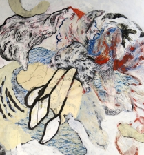 Desolation Expansion Treaty, 2009; Mixed Media On Paper; Obj/Image size: 60 x 50 inches