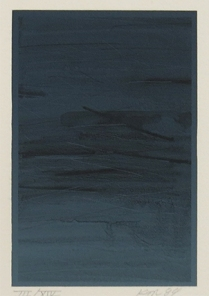 Untitled (ASU), 1984; Lithograph; Object size: 380 x 282 mm