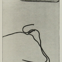 Untitled (chocolate w/ hanger), 1975; Lithograph; Object size: 419 x 329 mm