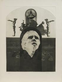 Untitled (big sur man), 1970; Intaglio; Object size: 762 x 570 mm