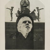 Untitled (big sur man), 1970; Intaglio; Object size: 762 x 570 mm