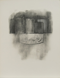Untitled (still-life w/rubbermaid), 1977; Lithograph; Object size: 762 x 568 mm