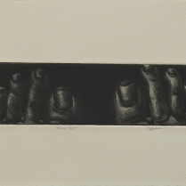 Alice Feet; Mezzotint; Object size: 155 x 333 mm